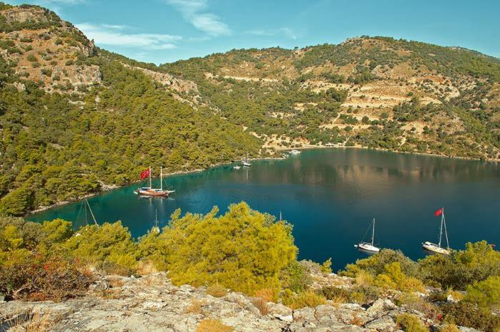 Sarsala Bay in Gocek